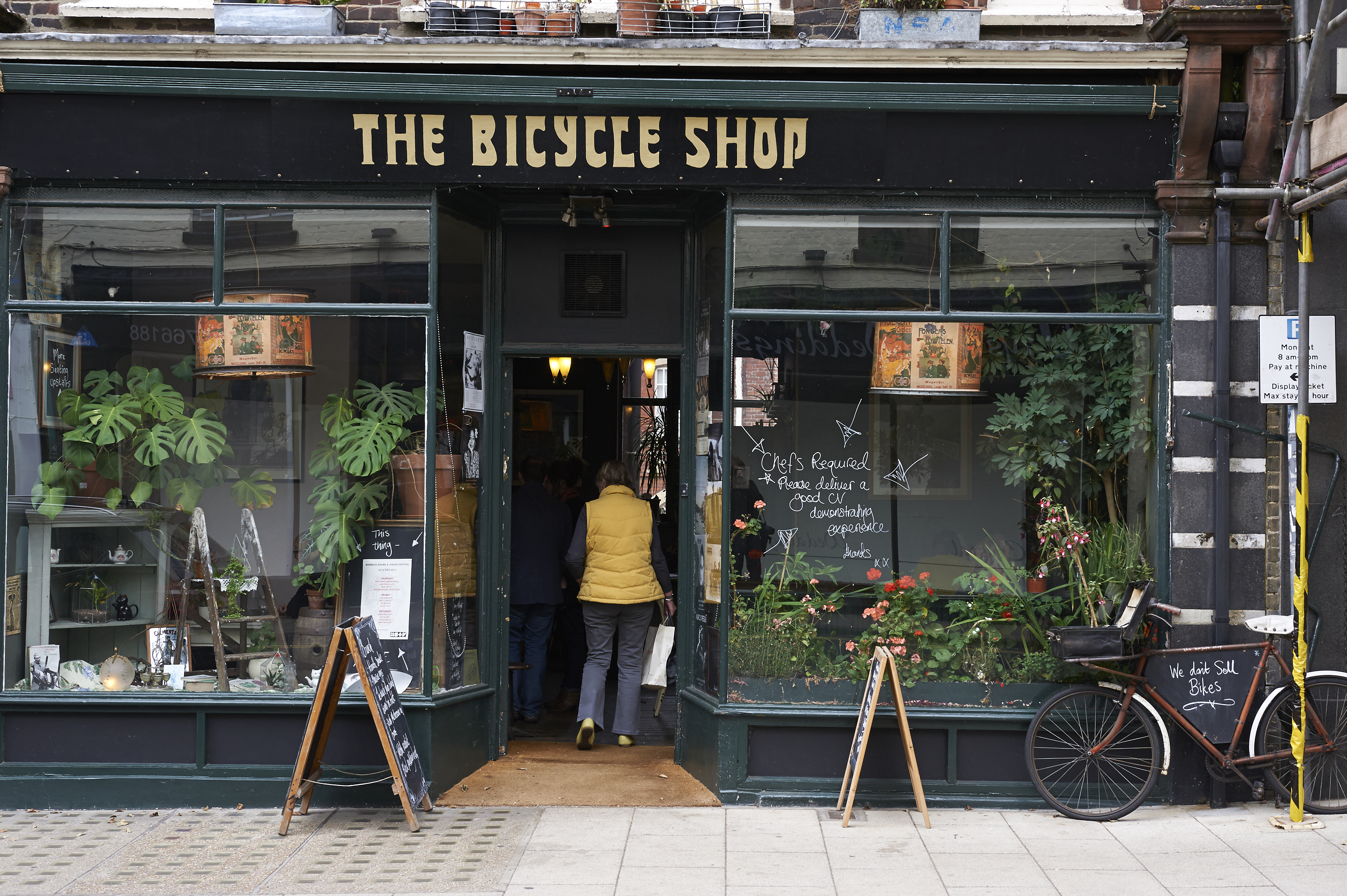 Food & Drink The Norwich Lanes-St Benedicts_The Bicycle Shop