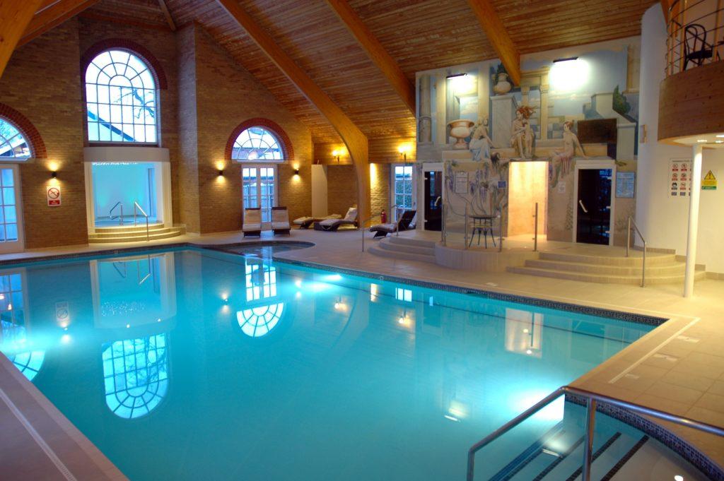 Enjoy a dip at the pool on a break to Park Farm Hotel