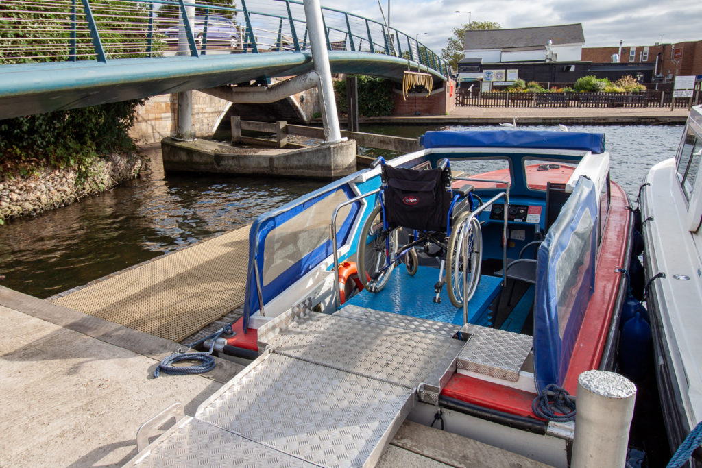Broads Tours wheelchair friendly boat