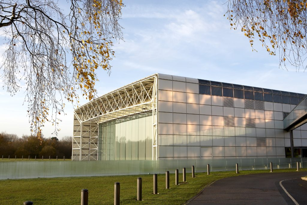 The Sainsbury Centre for Visual Arts. There's plenty to do, including its sculpture park.