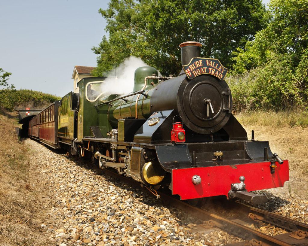 Bure Valley Railway Boat Train