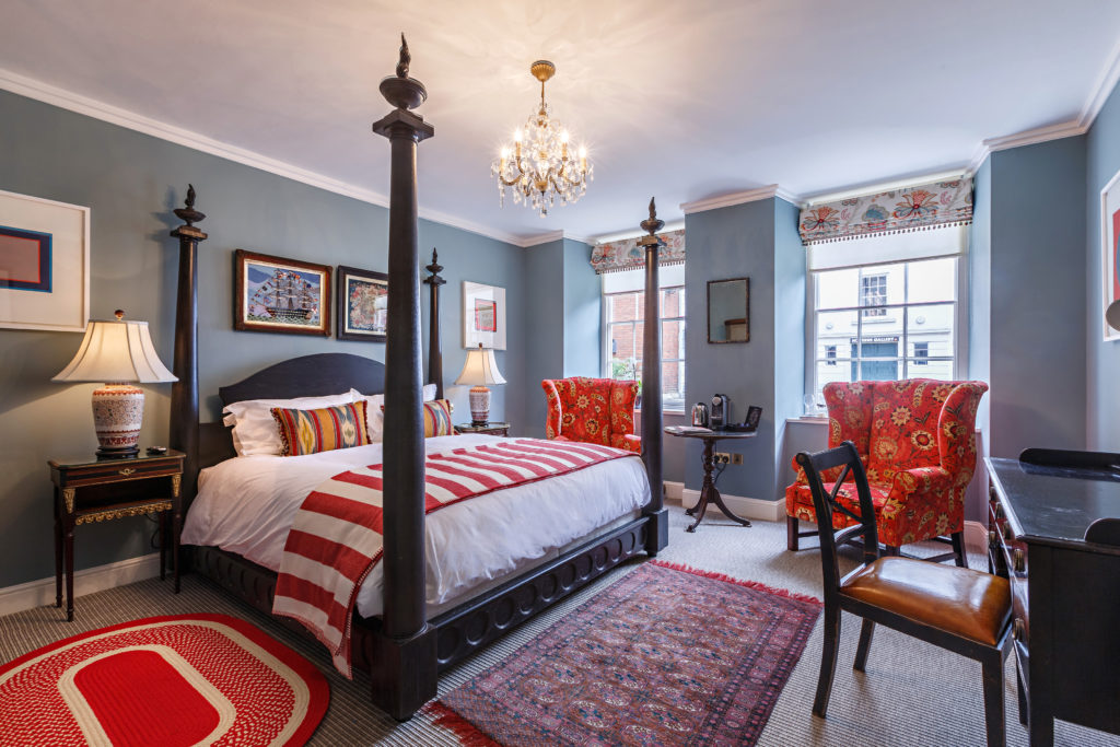A last-minute break doesn't mean you can't have luxury, with the gorgeous rooms at The Assembly House, Norwich