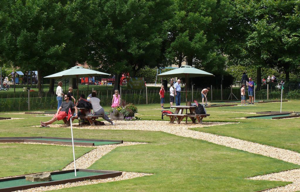 Eaton Park Crazy Golf