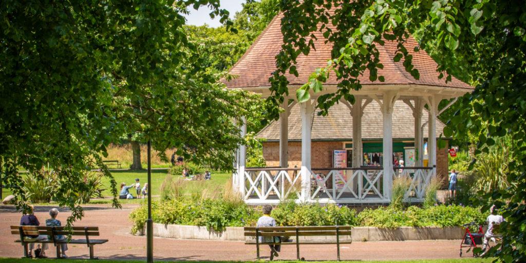 Chapelfield Gardens, enjoy a picnic next to its bandstand