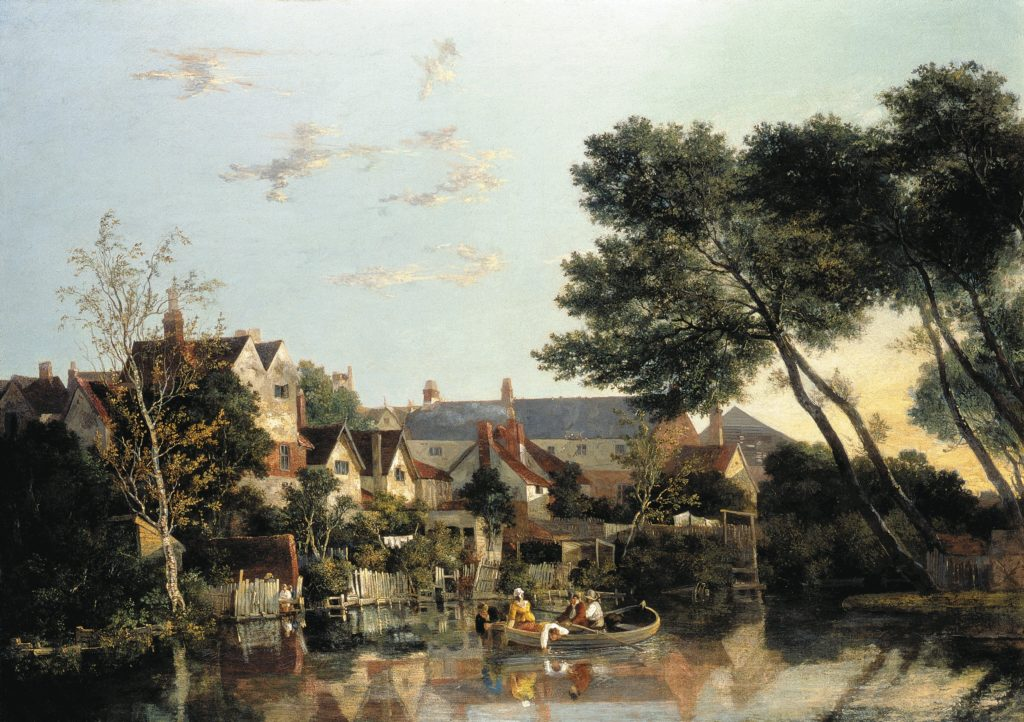 Norwich River Afternoon, c.1812-1819, by John Crome, © Norfolk Museums Service