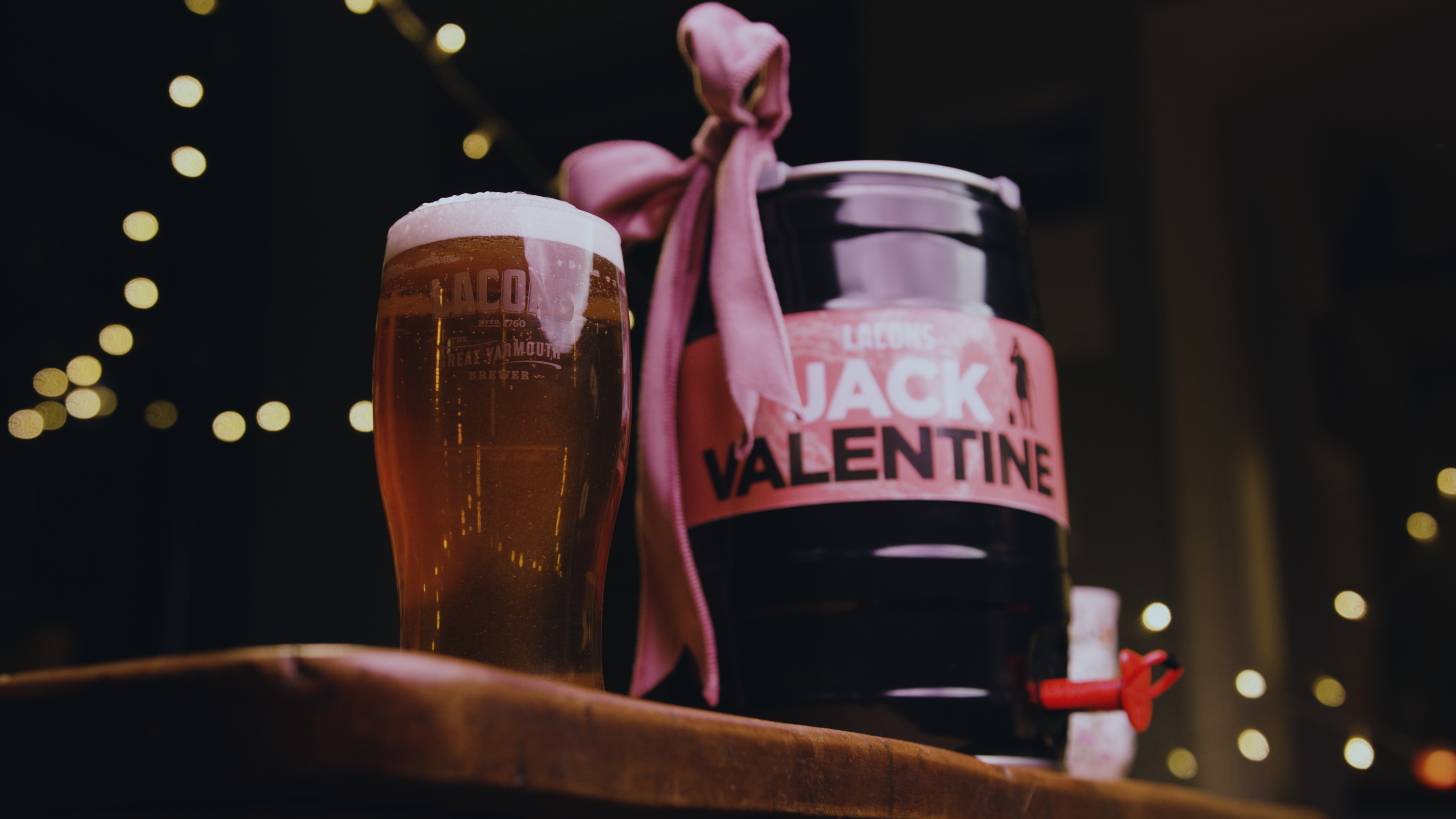 Jack Valentine mini cask from Lacons