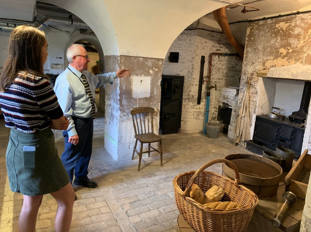Discover the cellars, courtyards and secret passages that the servants used at Holkham Hall