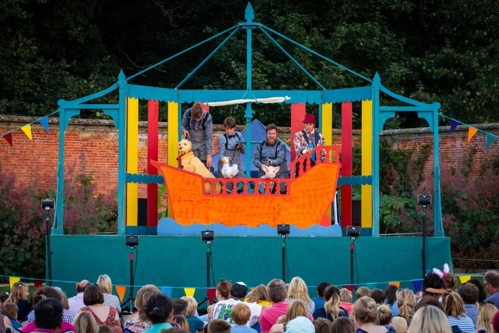Outdoor theatre at Holkham Hall