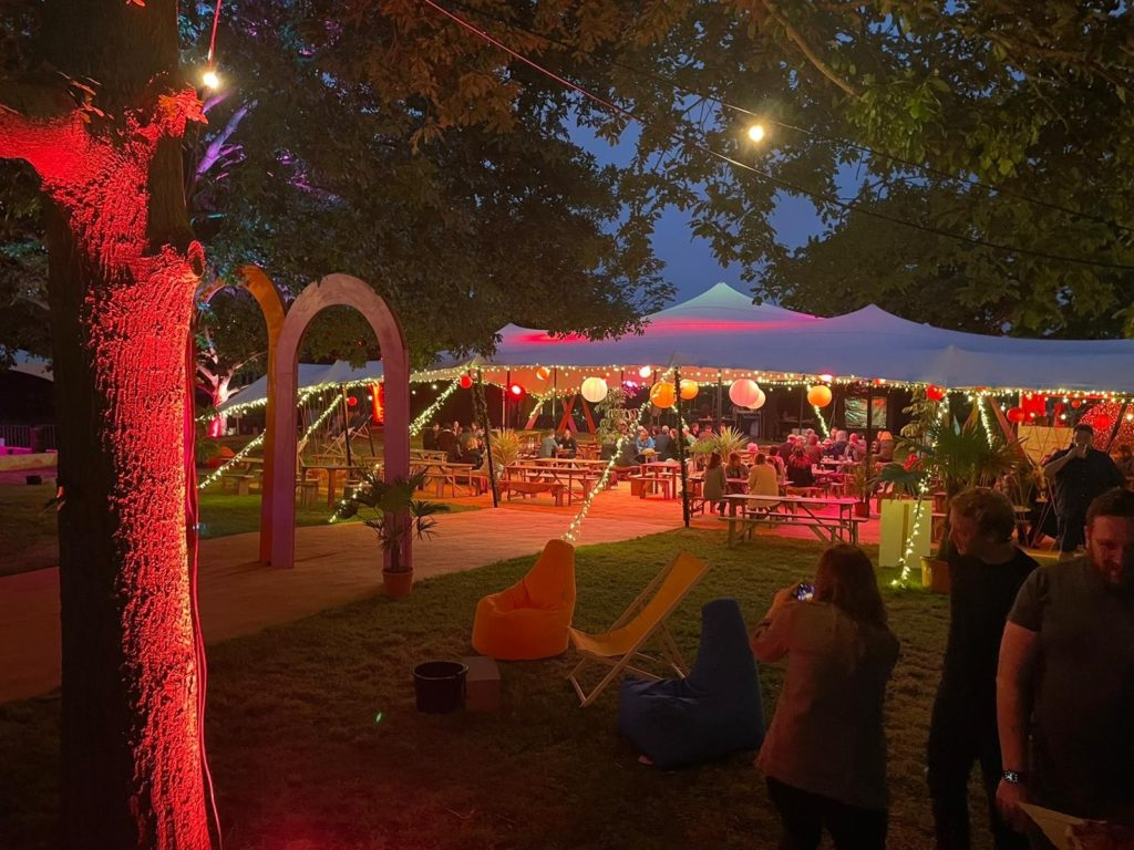 Mysagarden, bringing great food and music to Norwich this summer