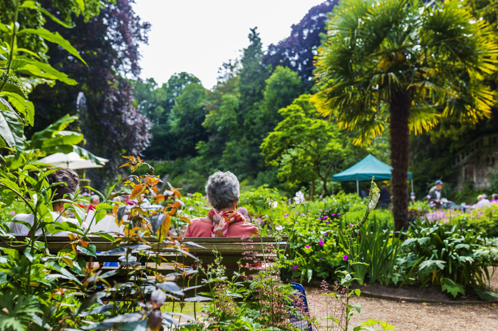 The Plantation Garden is perfect for a family picnic
