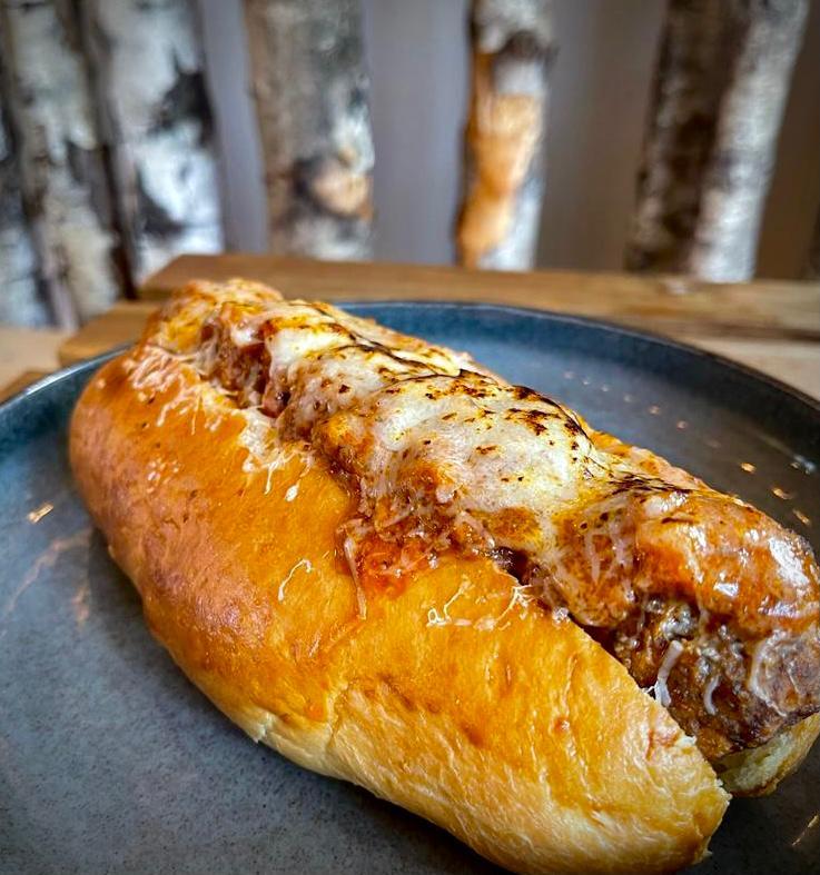 The Meatball Marinara Sub'osaurus from SALT, part of the Norwich City Food Trail