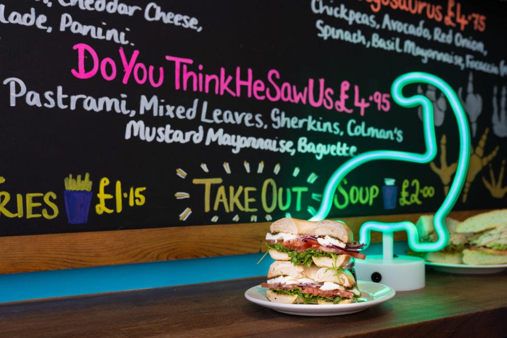 Dino City Food Trail at Logans Sandwich Bar